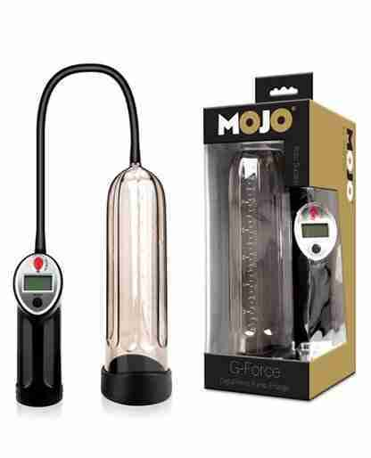 Mojo G Force Digtial Penis Enlarger - Black/Smoke