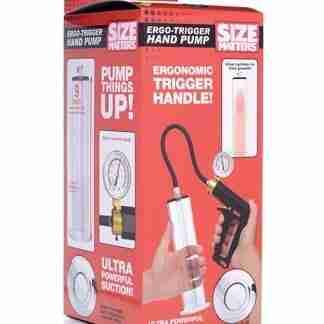 Size Matters Ergo Trigger Hand Pump - Clear